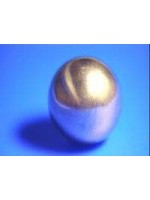 9ct gold 6mm 1 hole ball