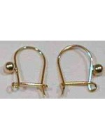9ct Safety wire with bead