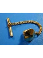 9ct gold tie tack